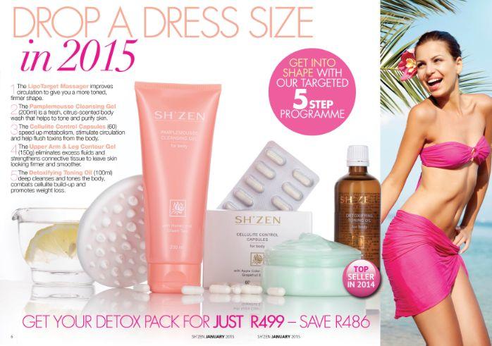 Drop a dress size in 2015!