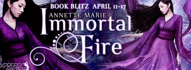 Sinfonia dos Livros: Book Blitz | Immortal Fire | Annette Marie | Givea...