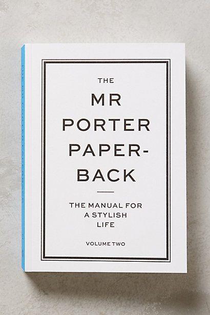 The Mr. Porter Paperback - anthropologie.com #anthrofave