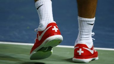 Wow ! Davis Cup : The shoes of the Swiss team !