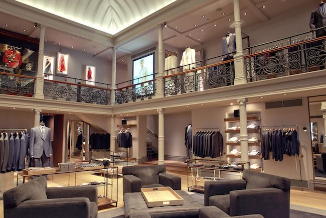 Perfectly Tailored Lighting Makes Gieves & Hawkes' Flagship Store Shine | lighting.eu