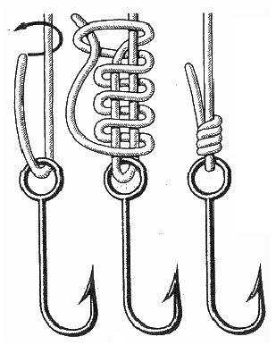 best 20 fishing hook knots ideas on