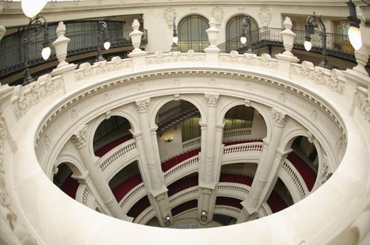 Escalier de l'ancien siège du Crédit Lyonnais