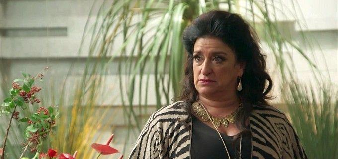 Grace Gianoukas (Teodora) em cena de Haja Coração, novela das sete da Globo - Reprodução/TV Globo