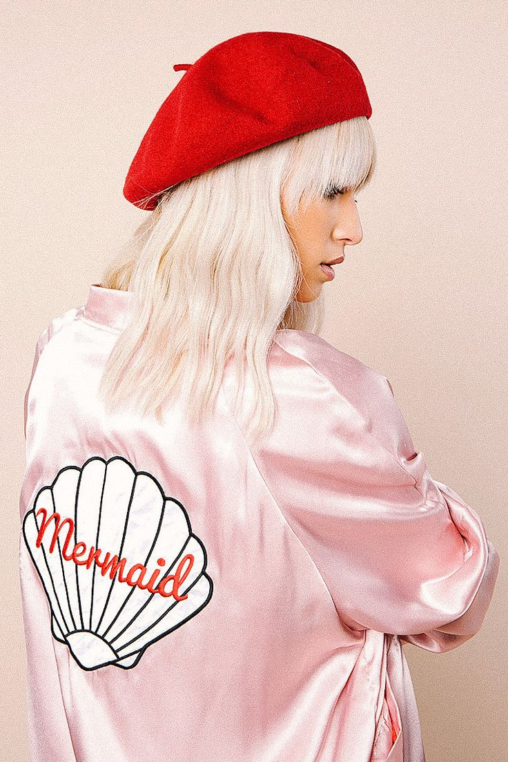 Valfre - Mermaid Bomber Jacket