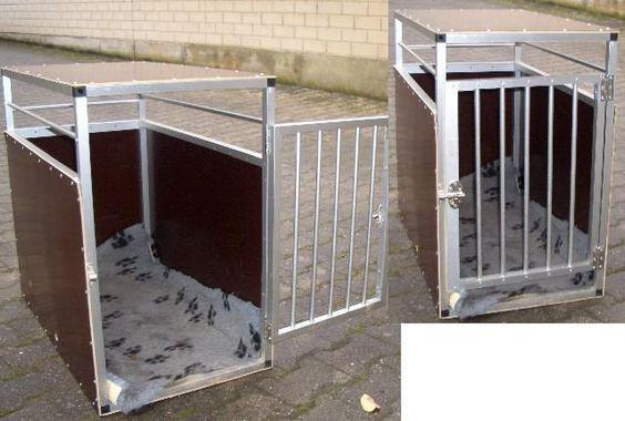 Hundebox fürs Auto zum selber Bauen mit Anleitung, Zeichnungen und Bilder. Detaillierte Auto Hundetransportbox Bauanleitung ...