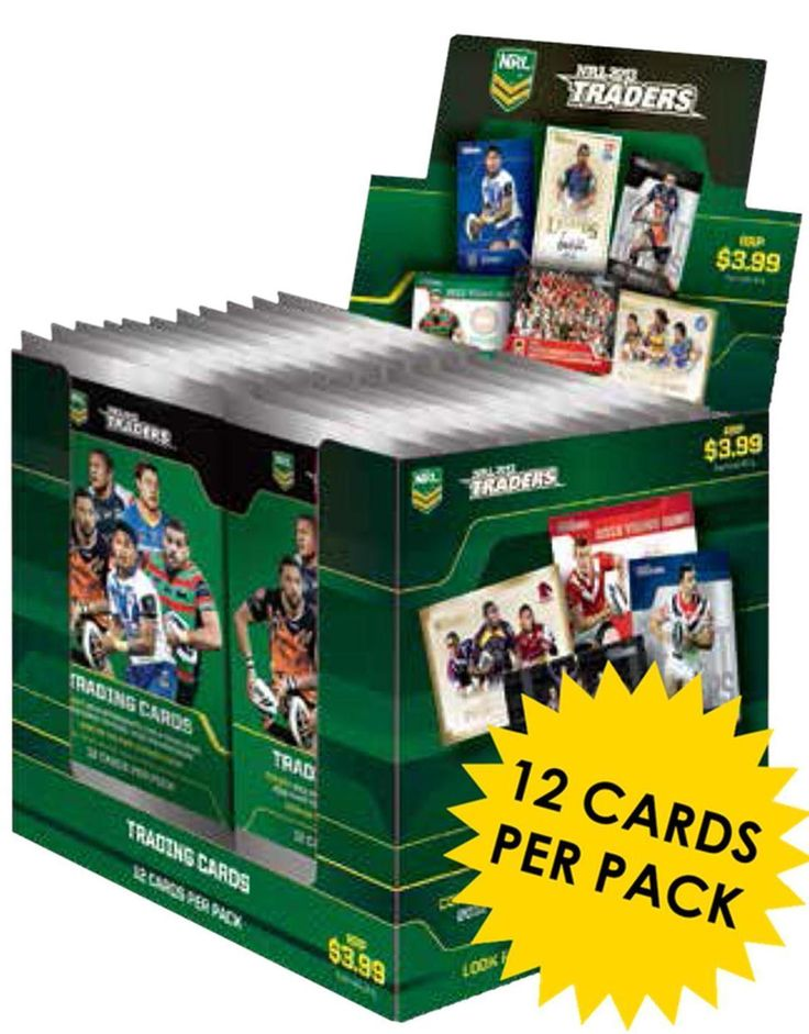 Rugby League NRL Cards 25583: Nrl 2013 Rugby League - Traders Trading Cards ~ Sealed Box (36Ct) #New -> BUY IT NOW ONLY: $49.99 on eBay!