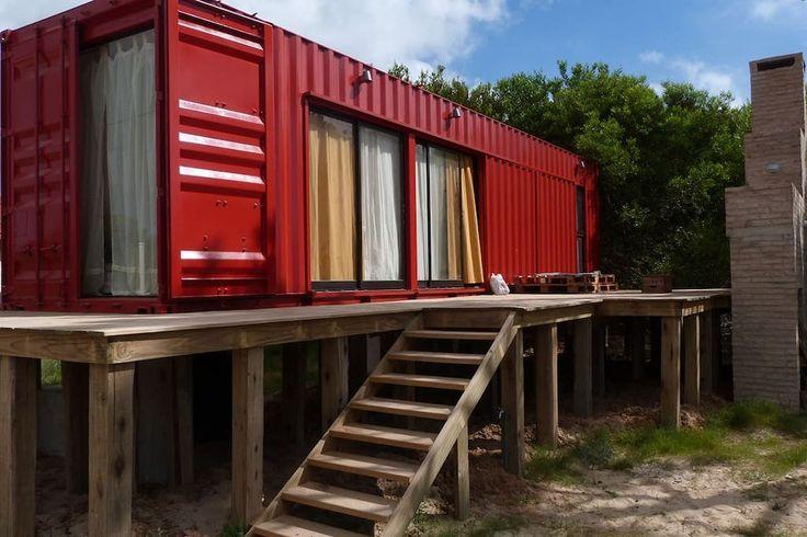 Casa/apto. entero en Punta del Diablo, UY. CasaContainer a pocas cuadras de la plata en zona muy tranquila