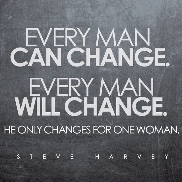 Steve Harvey, Instagram photo, Every man can change, every