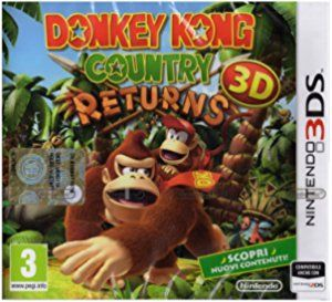 NINTENDO DONKEY KONG RETURNS 3DS