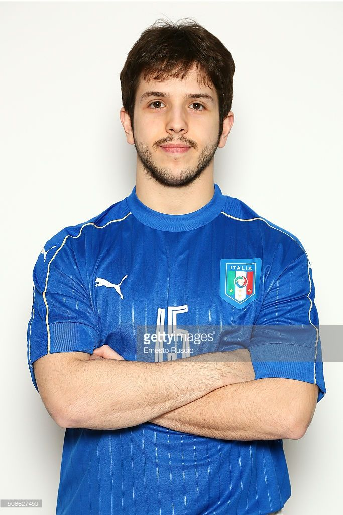 Murilo Ferreira Juliao poses during photocall at Diana Park Hotel on January 24, 2016 in Genzano di Roma, Italy.