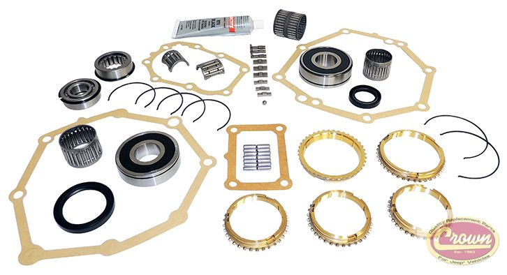 Transmission Master Overhaul Kit Ax5 Replaces Part