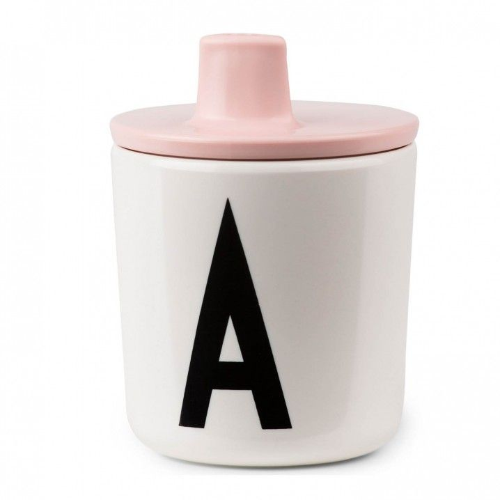 Drink Lid for Melamine Cups by Design Letters, Denmark.  Design Letters is a Danish design company, which creates contemporary minimalist designs. The signature graphics on their Letter Range, is based on the famous font designed by celebrated architect Arne Jacobsen.  The alphabet melamine series featuring Arne's iconic typography, is part of the kids' tableware series designed in Copenhagen.   Educational, classic and stylish, it's perfect for kids or outdoor entertaining.   The pe...