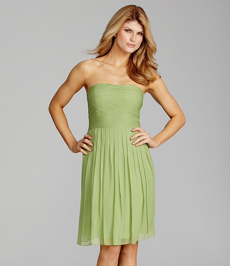 Antonio Melani Piper Strapless Dress | Dillards.com