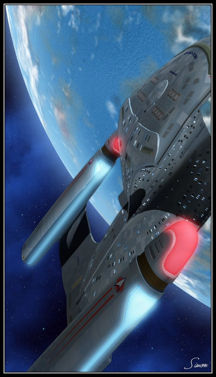 Uss enterprise ncc 1701 d galaxy class saucer separation r flickr - Enterprise D By Wileycoyote Calm Before The Storm