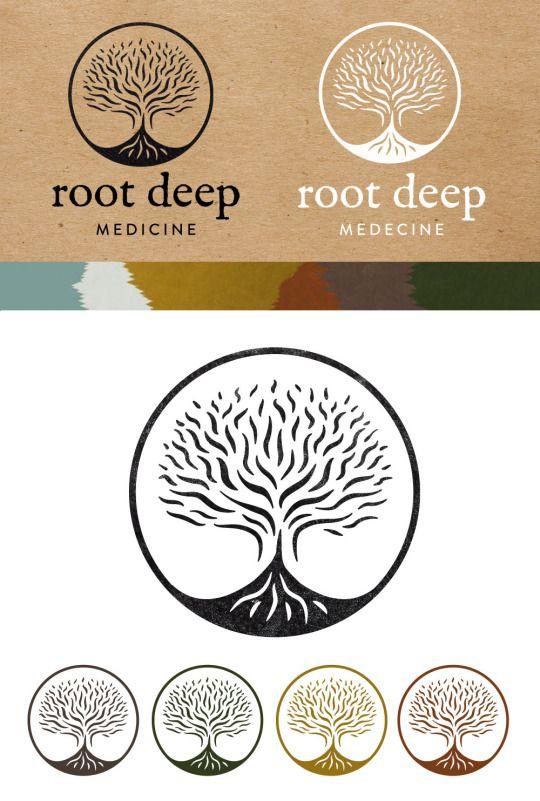 Logo created for Root Deep #rootLogo ॐ Shakti Sway ॐ