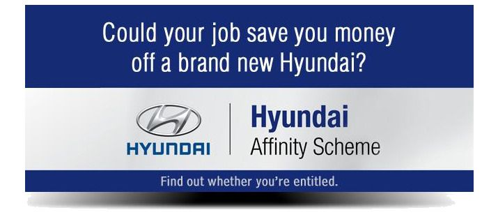 here at Kidderminster Hyundai we try to give as much as we can to our customers, which is why we are happy to represent that renowned Hyundai Affinity Scheme for our customers working for eligible companies.   If you work for any of the listed companies below, we are pleased to say that you are entitled to 17% off a brand new Hyundai car.  CALL 01562 549765