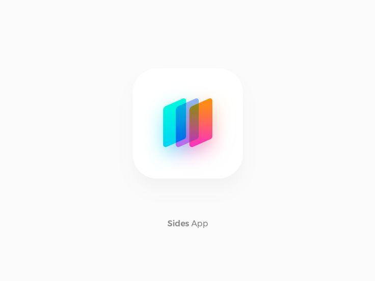 Gradient Mobile App icon by Aryana Shakibaei
