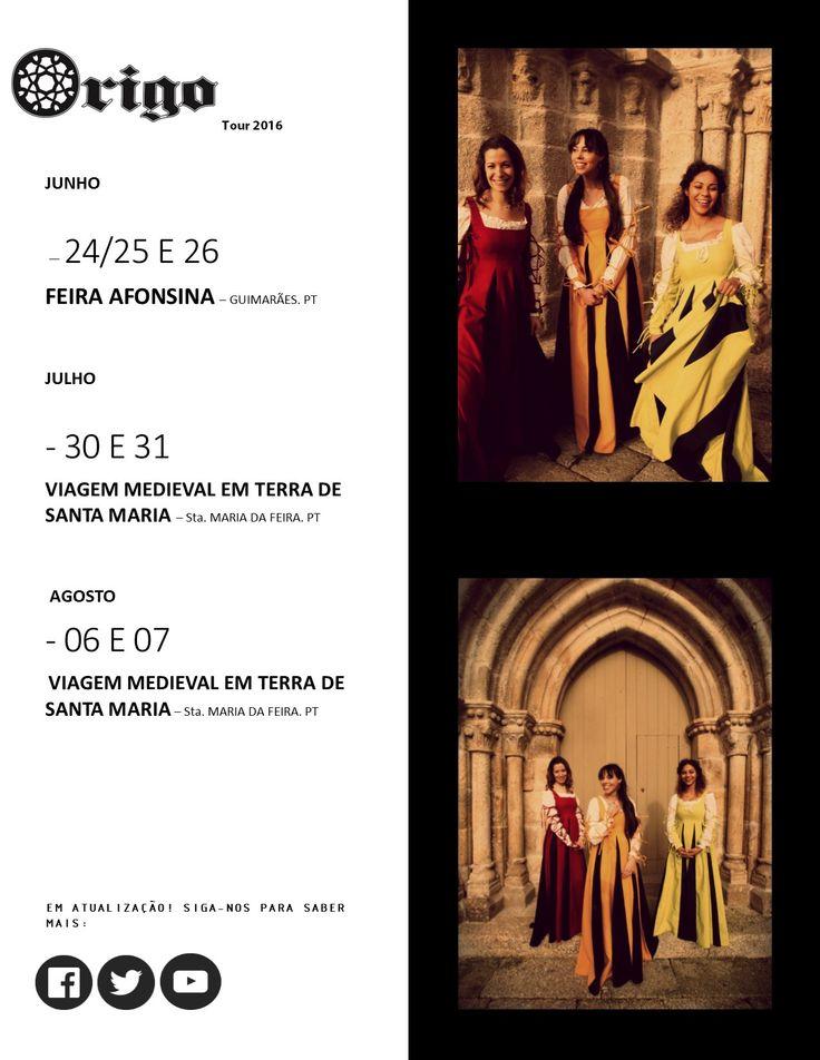 Origo (Origin) is female vocal ensemble of early music, from Porto, Portugal. Origo (Origem) ensemble vocal feminino de música antiga do Porto, Portugal. Contacto/ Booking: origoensemble@gmail.com