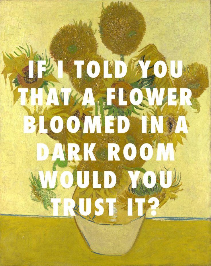 Sunflowers, version four (1888), Vincent van Gogh / Poetic Justice, Kendrick Lamar ft. Drake