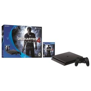 PlayStation 4 Slim 500GB Console - Uncharted 4 Bundle 特价 $212.49 - https://www.168168.com/seller/playstation-4-slim-500gb-console-uncharted-4-bundle/