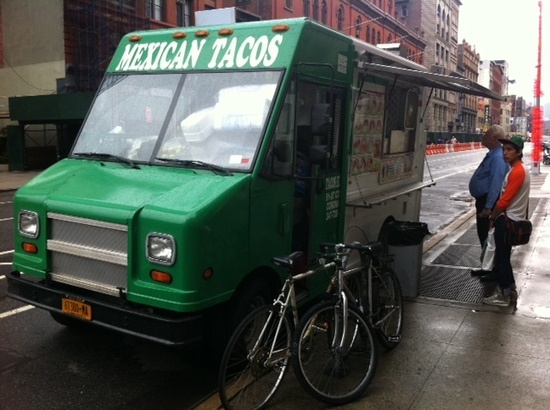 The best taco truck in Manhattan, and a fine representative of why New York City is one of the most influential cities in the development of Mexican food in the United States. Get the tacos árabes!