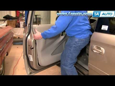 1a auto shows you how to remove or replace the interior door panel trim on your vehicle you. Black Bedroom Furniture Sets. Home Design Ideas
