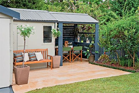 How to pave an outdoor area better homes and gardens Yahoo better homes and gardens