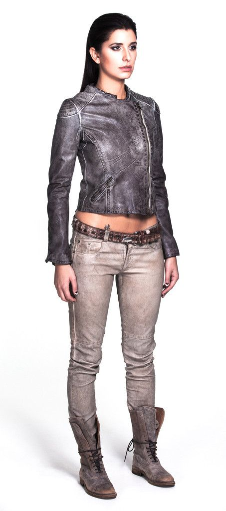 Germania Jacket and Ibiza Pants by Blur Leather