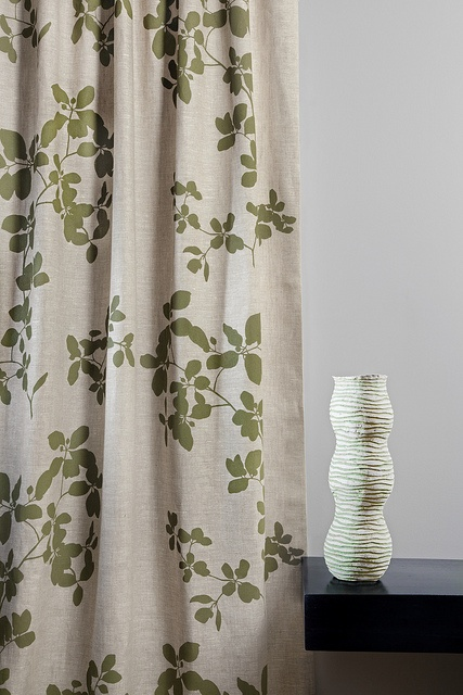 Karo Lichen - Curtain by Hemptech Textiles, via Flickr