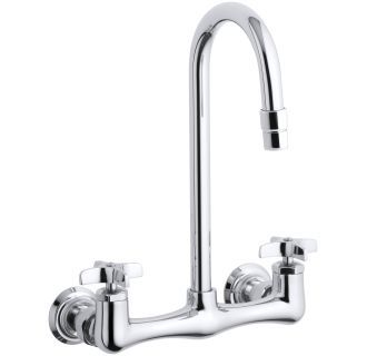 View the Kohler K-7320-3 Triton utility sink faucet with cross handles at Build.com.