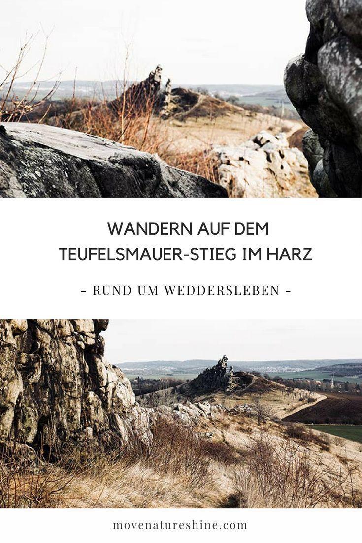 Die Teufelsmauer im Harz: Rund um Weddersleben