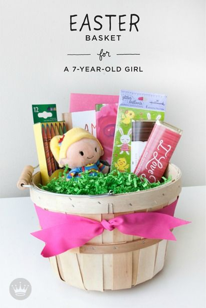 297 best easter images on pinterest easter baskets easter ideas looking for a few last minute easter basket ideas for your little girl think negle Image collections