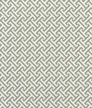 P/K Lifestyles Cross Section Charcoal Fabric - $12.95   onlinefabricstore.net #gray #nursery