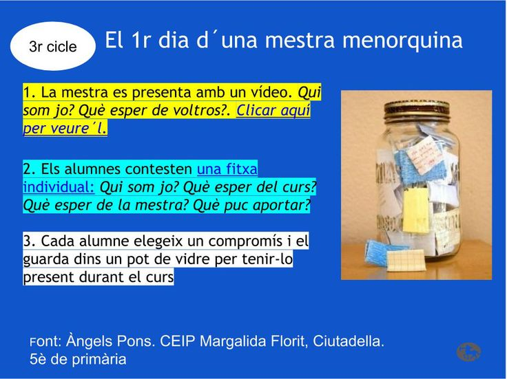 El primer dia de classes. Àngels Pons. 3r cicle. Escola Margalida Florit, Ciutadella, Menorca.