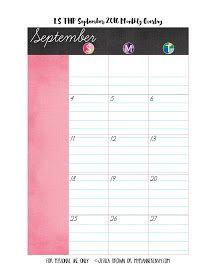 LS of the Regular Happy Planner September 2016 Monthly Overlay on…