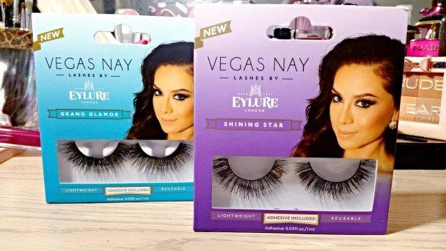 Eylure Vegas Nay Shining Star, Glamor Eyelashes