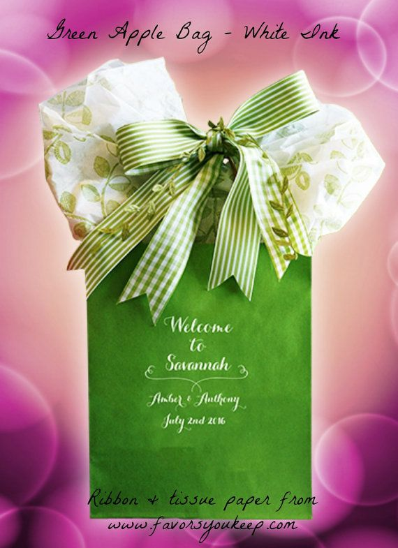 Atlanta Wedding Gift Bag Ideas : 25 wedding welcome bags personalized wedding guest gift bag oot bag ...