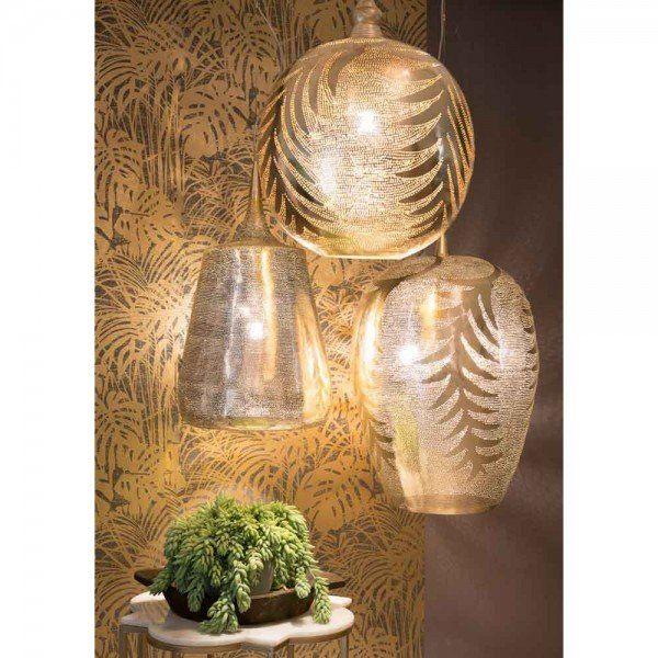 Orientalische Lampe Yasin Gold Orientalische Lampen Lampen Orient Lampe