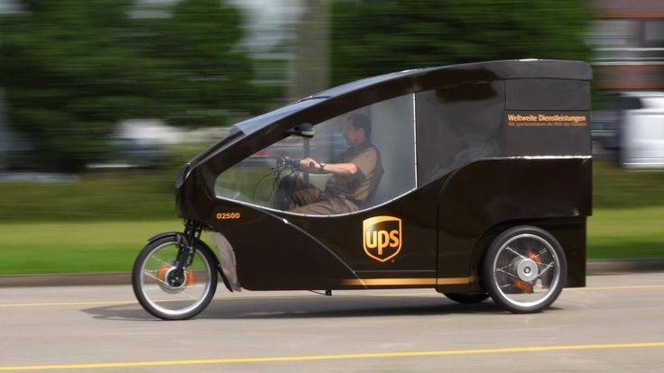 Parcel-delivery company UPS is testing its Cargo Cruiser e-bike in a few European cities. (UPS)