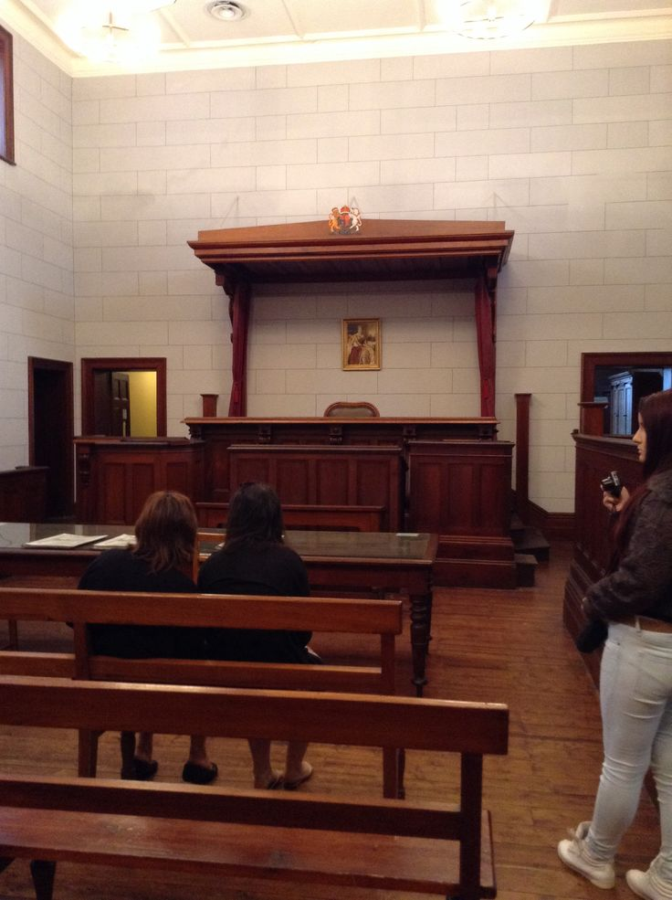 The Beechworth Courthouse where Ned's trial for the Glenrowan Seige was