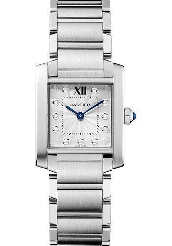 Cartier Tank Francaise Medium - Stainless Steel Watch WE110007