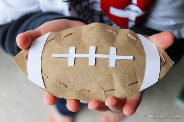 Superbowl Party Favors - cute football favor