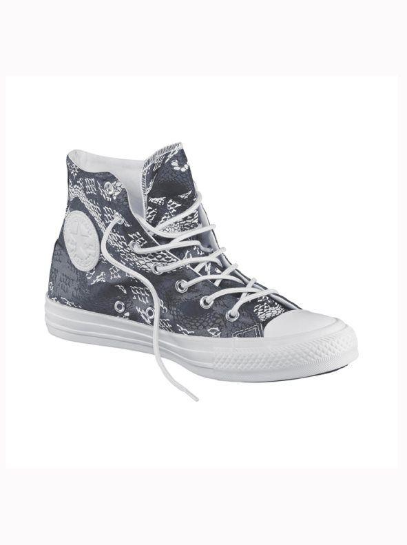 zapatillas converse mujer plata