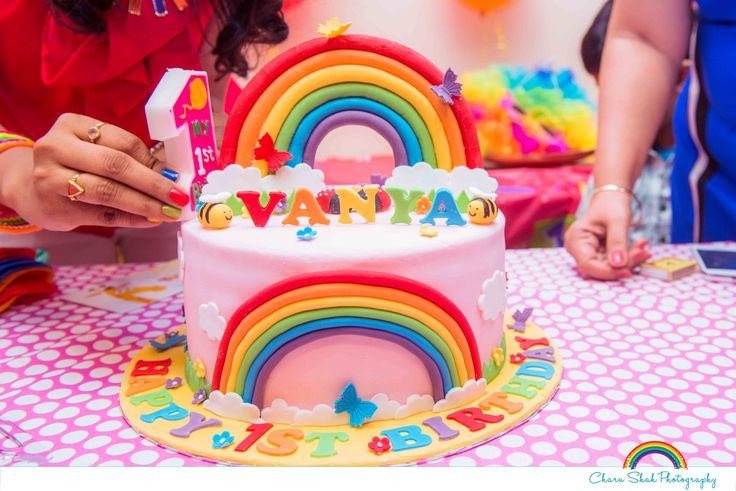 Rainbow cake, Colorful cake, Rainbow kids party, Family photographer, Kids photographer