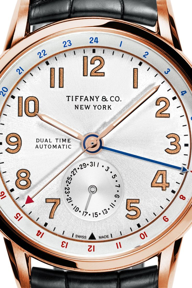 e5e0e6b68b There's no present like the time. Tiffany CT60® Annual Calendar 40 mm watch  in 18k rose gold.