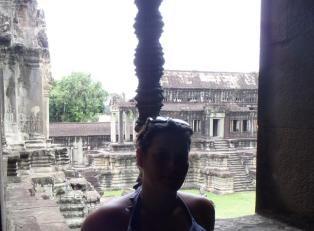 Kate in Cambodia