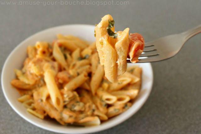 little weird, but good. Tomato cream pasta sauce - Amuse Your Bouche