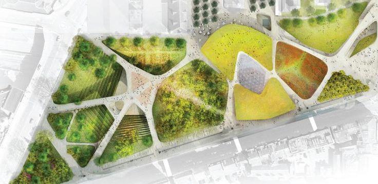 45 best hillside architecture images on pinterest for Paisajismo urbano
