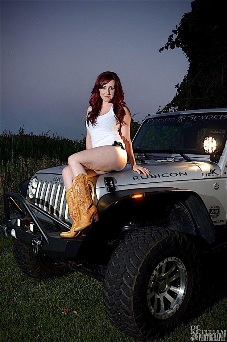 Nude girls in jeeps